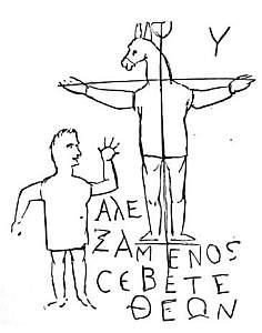 graffito blasfemo Aeselhoved