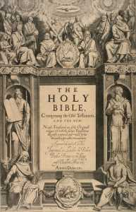 King James Authorized Bible